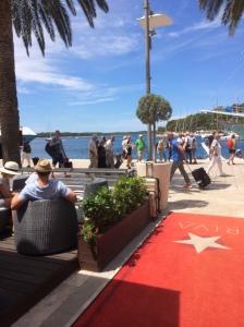 Utsikt från  Riva Yacht Harbor Hotel